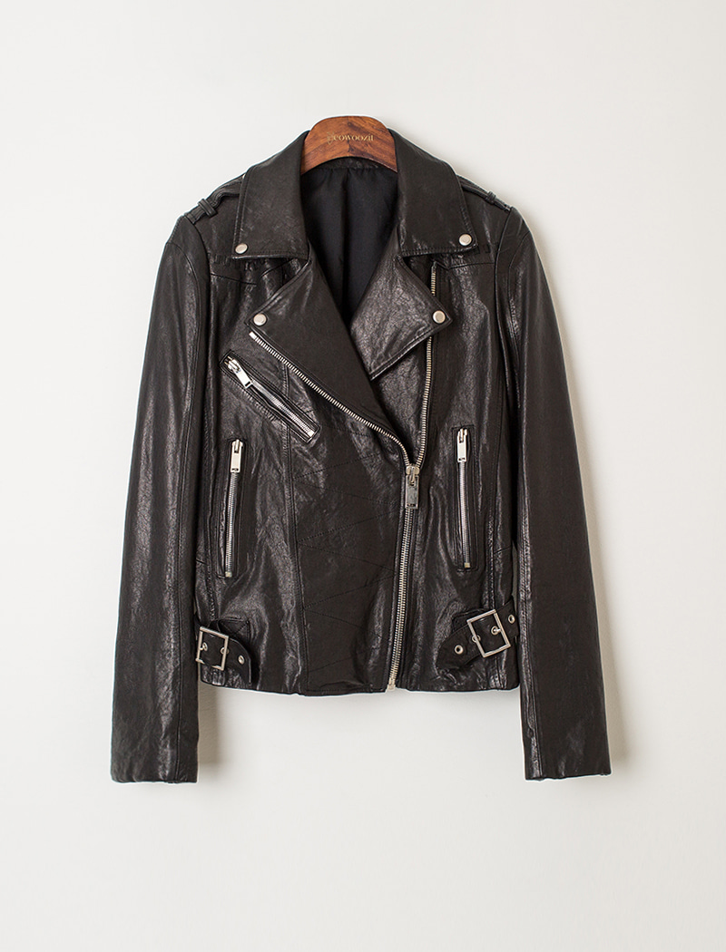 [REAL LEATHER] RK Woman Leather Jacket